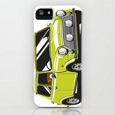 Mini Cooper Car - Chartreuse iPhone (5, 5s) Slim Case