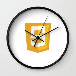 Javascript Wall Clock