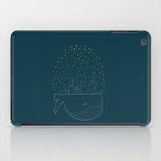 Sky Whale Island iPad Case