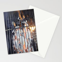 Grill on Stationery Cards