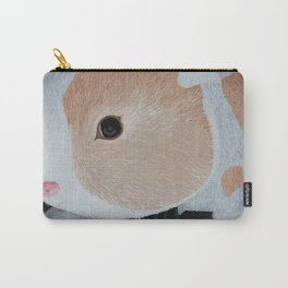 Stuffy Fluffy (Bunny in a Purple Room) Carry-All Pouch