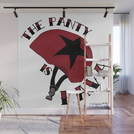 The Panty is Lava Wall Mural