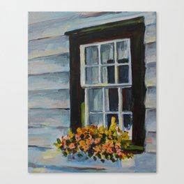 Summer Window Canvas Print
