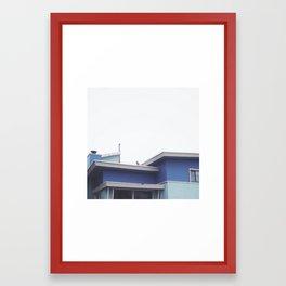 dreaming of a blue sky Framed Art Print