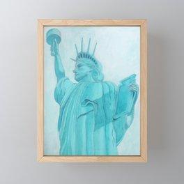 BROOKLYN LIBERTY Framed Mini Art Print