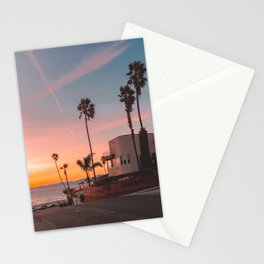 California Beach House Goals Stationery Cards