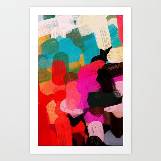 Palette No. Eight Art Print