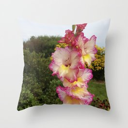 Glad to be the star of this photo! Throw Pillow