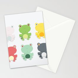 Frogs Stationery Cards