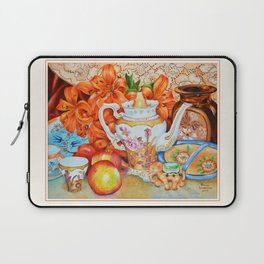 Lilies and Lace Laptop Sleeve