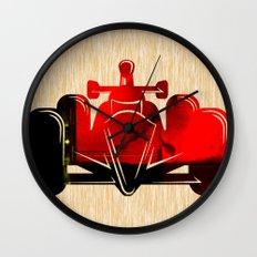 Formula Race Car Wall Clock