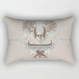 Ghosts of Scandinavia. Iceland. Rectangular Pillow