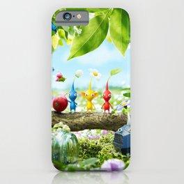 Colored Manadragoras iPhone Case
