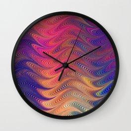 MARBLING PATTERN-2 Wall Clock