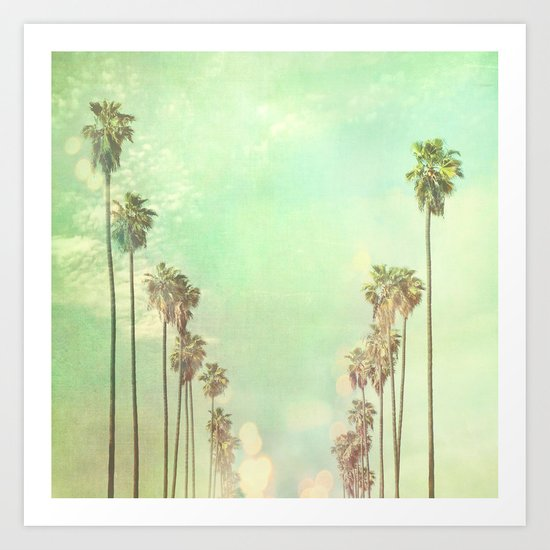 Los Angeles. La La Land photograph Art Print