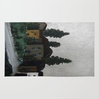 hamlet Area & Throw Rugs featuring the hamlet by Maria Julia Bastias