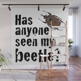 Beetle Search Wall Mural