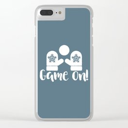 Game On Clear iPhone Case