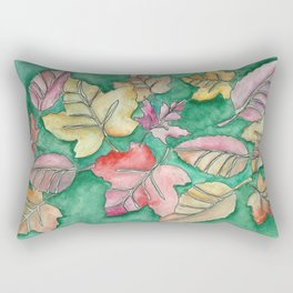 Fall Leaves Fall Rectangular Pillow