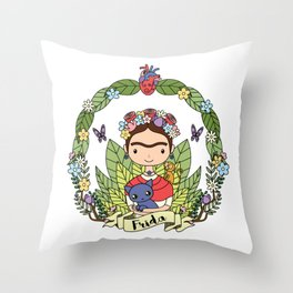 Frida Throw Pillow