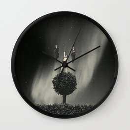 Can We Please Get Down Now Wall Clock