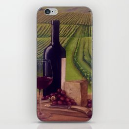 Wine in the Vineyard iPhone Skin