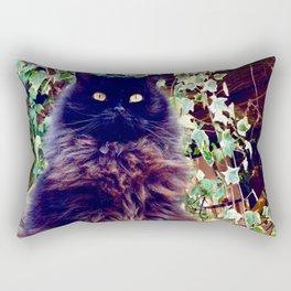 The King of cats Pomponio Mela Rectangular Pillow