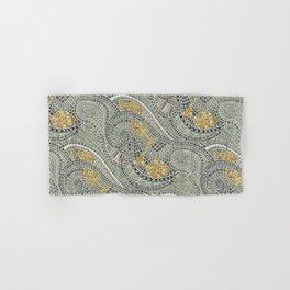 mosaic fish Hand & Bath Towel