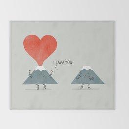 I Lava You Throw Blanket