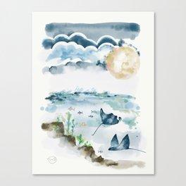 Moon Dancers Canvas Print