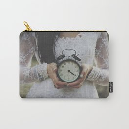 Ticking Carry-All Pouch
