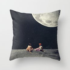 I Gave You the Moon for a Smile Throw Pillow