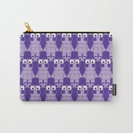 Super cute cartoon purple pig - bring home the bacon with everything for the pig enthusiasts! Carry-All Pouch