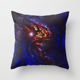 """The Earth Speaks"" Print Throw Pillow"