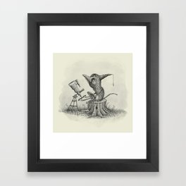 'Looking For Astronauts' Framed Art Print
