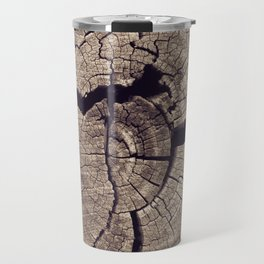 Cracks in Time - Photography #Society6 Travel Mug