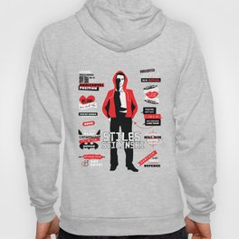 Stiles Stilinski Quotes Teen Wolf Hoody