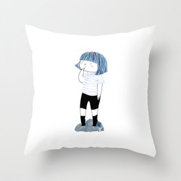 I am I Throw Pillow