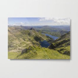 Snowdon Summit Metal Print