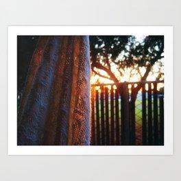 RAINBOW LIGHTS Art Print