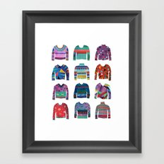 Sweater Poster Framed Art Print