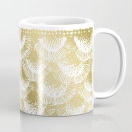Gold Coral Coffee Mug