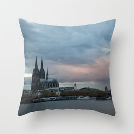 Cologne 3 Throw Pillow