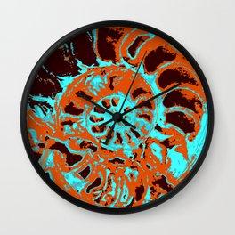 """Ammonite"" Wall Clock"
