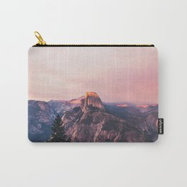Purple Yosemite Valley in California United States of America Carry-All Pouch