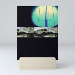 eerie moon charged nights of twilight, when everyone sleeps Mini Art Print