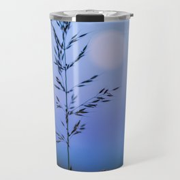 Tall Grass in Spring Travel Mug