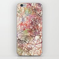 austin iPhone & iPod Skins featuring Austin by MapMapMaps.Watercolors