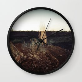 Witch-hunt Wall Clock