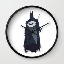 A Bat in the Night! Wall Clock